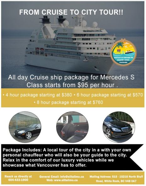 Vancouver Cruise Ship Transfer transportation